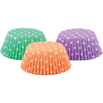 Foxrun Polka Dot Mini Baking Cup, Set of 75