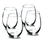 Anchor Hocking 15 Ounce Stemless Wine Glass, Set of 4