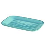 Rachael Ray Cucina Agave Blue Stoneware 8 x 12 Inch Rectangular Platter