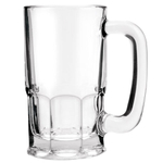 Anchor Hocking 20 Ounce Glass Beer Mug, Set of 6