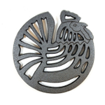 Old Mountain Pre-Seasoned Cast Iron Rooster Trivet