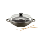 Berndes Tradition Induction Covered 13.5 Inch Wok Pan