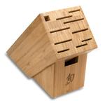 Shun Bamboo 11-Slot Cutlery Block
