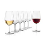 Final Touch ISO Wine Tasting Glass, Set of 6