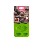 Trudeau Silicone 6 Slot Lip Chocolate Mold, Set of 2