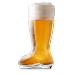 Final Touch 1 Liter Das Boot Beer Glass