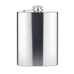 Final Touch Stainless Steel Hip Flask