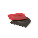 Lodge Red and Black Griddle Edge Pan Scraper Set