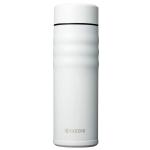 Kyocera Twist Pearl White Ceramic 17 Ounce Insulated Hot & Cold Travel Mug