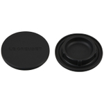 Le Creuset Black Silicone Mill Cap, Set of 2