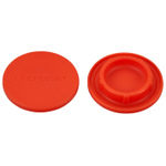 Le Creuset Flame Silicone Mill Cap, Set of 2