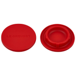Le Creuset Cerise Silicone Mill Cap, Set of 2