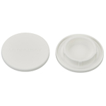 Le Creuset White Silicone Mill Cap, Set of 2