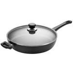 Scanpan Classic 12.5 Inch Saute Pan with Glass Lid