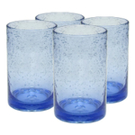 Artland Iris Light Blue Glass 17 Ounce Highball Tumbler