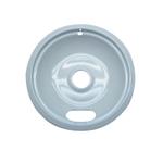 Range Kleen White Porcelain Large 8 Inch Drip Bowl