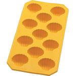 Lekue Yellow Rubber Shell Slim Ice Cube Tray
