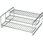 RSVP Stainless Steel 3-Tier Spice Rack