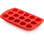 Lekue Red Silicone Rose Chocolate Mold Pan