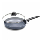 Woll Diamond Plus Induction Fry Pan with Vented Safety Glass Lid, 12.5 Inch
