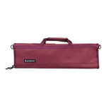 Messermeister Burgundy Padded 8 Pocket Knife Roll