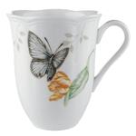 Lenox Butterfly Meadow Porcelain Blue Butterfly 12 Ounce Coffee Mug