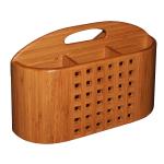 Totally Bamboo Bamboo Eco Dish Rack Utensil Holder