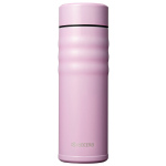 Kyocera Twist Cotton Candy Pink Ceramic 17 Ounce Insulated Hot & Cold Travel Mug