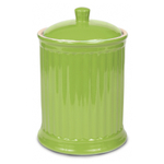 Omniware Simsbury Extra Large Citron Ceramic 120 Ounce Cookie Jar