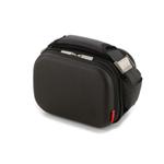 Valira Satin Black Mini Lunch Bag