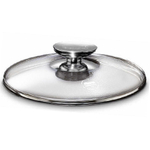 Berndes SignoCast/Tricion Round Glass Lid, 7 Inch