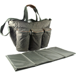 """""""Lil Boo"""" Olive Insulated Baby Tote"""