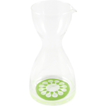 Sagaform Juicy Glass Carafe with Green Decal