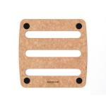 Epicurean Natural Wood Composite 7 Inch Trivet