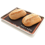 Bread Bakers Set with Nordic Ware Aluminum Half Sheet and Silpat Silpain Nonstick Bread Mat, 13 x 18 Inch