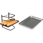 Linden Sweden Jonas Collapsible 4 Tier Cooling Rack with Aluminum Baker's Half Sheet