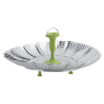 Trudeau Stainless Steel 11 Inch Vegetable Steamer Basket