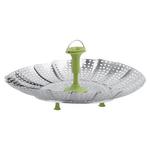 Trudeau Stainless Steel 9 Inch Vegetable Steamer Basket