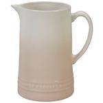Le Creuset Meringue Stoneware 1.6 Quart Pitcher