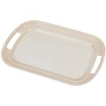 Le Creuset Meringue Stoneware 16.25 Inch Serving Platter