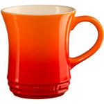 Le Creuset Flame Stoneware 14 Ounce Tea Mug