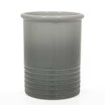 Chantal Fade Grey Ceramic Utensil Crock