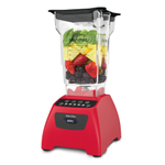 Blendtec Classic 575 Poppy Blender with FourSide Jar and Silicone Blender Spatula