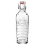 Bormioli Rocco Officina 1825 Embossed 40 Ounce Glass Bottle