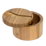 Totally Bamboo Big Dipper Bamboo Salt Box with Spoon