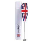 Aerolatte Original Steam-Free Union Jack Stainless Steel Cordless Milk Frothing Wand