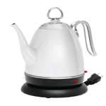 Chantal Mia Ekettle White Stainless Steel 32 Ounce Electric Water Kettle