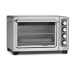 KitchenAid KCO253CU Contour Silver Standard Countertop Compact Oven