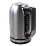 KitchenAid KEK1722SX Brushed Stainless Steel 1.7 Liter Electric Kettle with LED Display