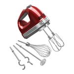 KitchenAid KHM926CA Candy Apple Red 9 Speed Hand Mixer